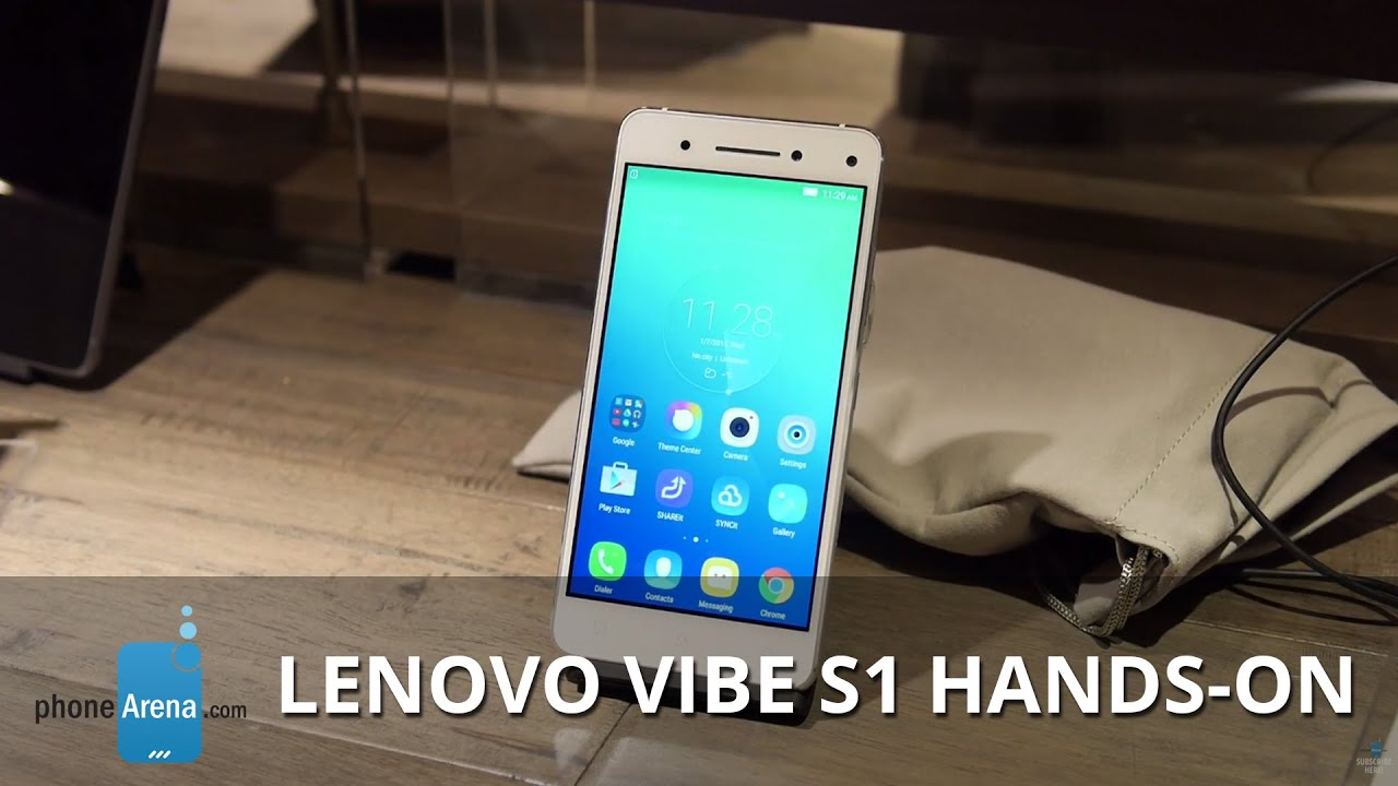 Lenovo Vibe S1 First Look | 13 MP Camera | Design and .