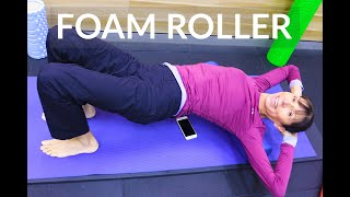 Foam Roller for Back Pain and Stiffness - Physical Therapist Exercises