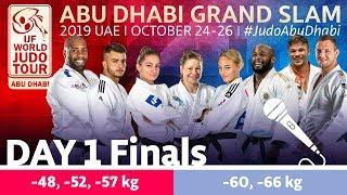 Judo Grand-Slam Abu Dhabi 2019: Day 1 - Final Block
