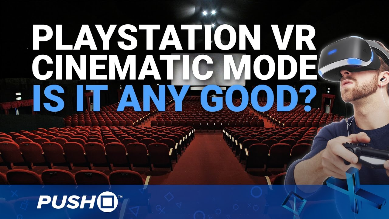 Playstation Vr Cinematic Mode Playing Non Vr Ps4 Games
