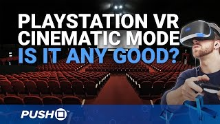 Playstation Vr Cinematic Mode: Playing Non Vr Ps4 Games, Watching Netflix On Simulated Cinema Screen
