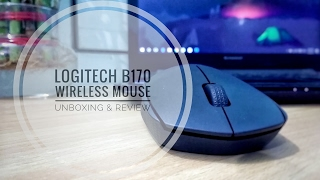 Logitech B170 Wireless Mouse Unboxing & Review