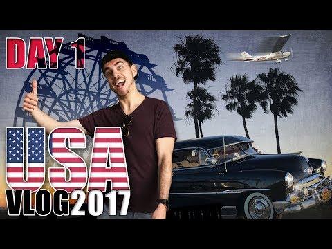 KONEČNE SLOBODNÍ │ DAY 1 │ USA VLOG 2017