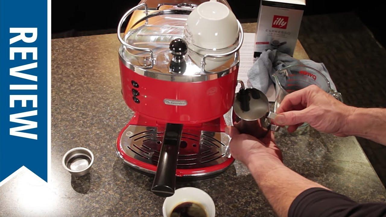 Electronic Delonghi Icona Pump Coffee Machine delonghi eco310 icona semi automatic espresso machine youtube