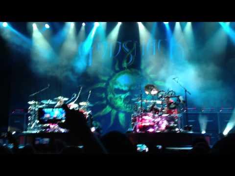 Godsmack - Drumming Duet Performance at Usana Uproar Festival Salt Lake City, UT 2012