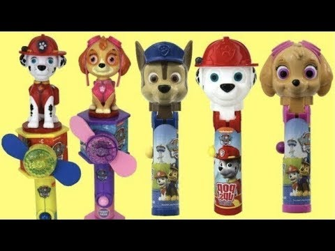 Paw Patrol Lollipop POP UPS Candy Dispensers