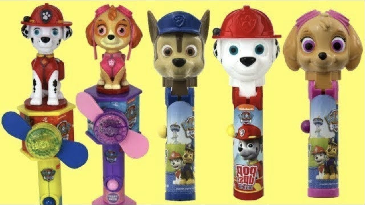 Download Paw Patrol Lollipop POP UPS Candy Dispensers
