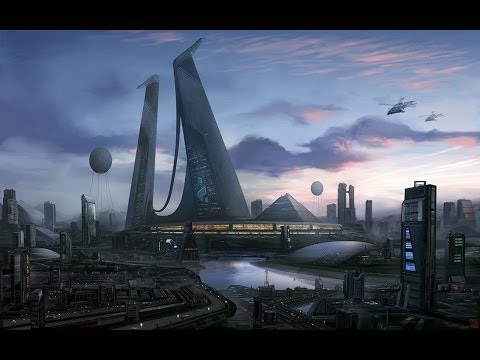 Infected Mushroom - Cities of the Future [Visualization]