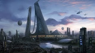 Infected Mushroom Cities Of The Future Visualization