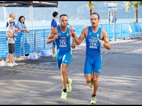 World Paratriathlon Series - Iseo 2018