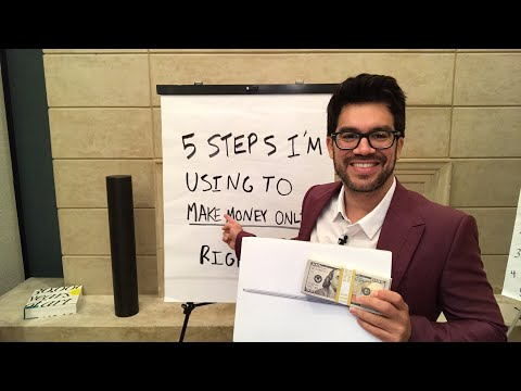 💰5 Steps I'm Using To Make Money Online Right Now📚 ‪tailopez