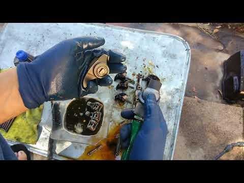 how to clean sludge build up/ parts wash