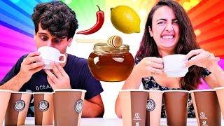 Çayın yanına ne alırsın challenge. Komik challenge.