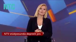 #deprem #istanbul 5.8 lik istanbul depreminden tv canlı yayın anları