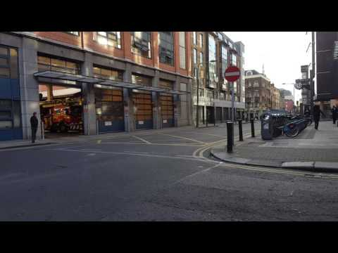 TURNOUT: Dublin Fire Brigade Tara Street Station Turnout