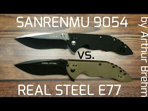 ✔Real Steel E77 vs SanRenmu 9054 ☆ Review&Comparison☆DEUTSCH☆