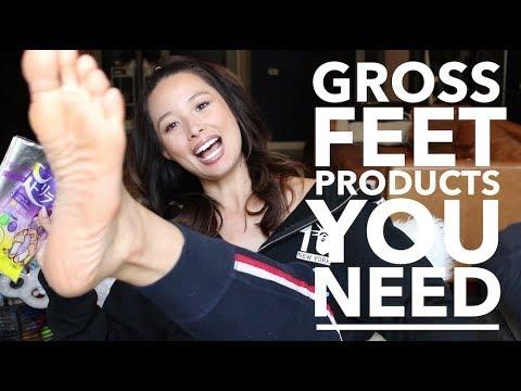 How I Get Soft Feet   Gross Beauty Products I Use   Aja Dang