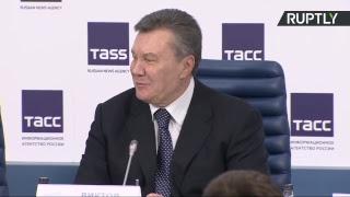 Пресс-конференция Виктора Януковича в Москве (Часть 2)