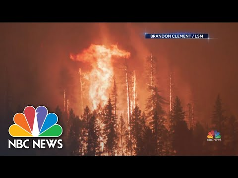 Download Firefighters Struggling To Contain Northern California's Dixie Fire