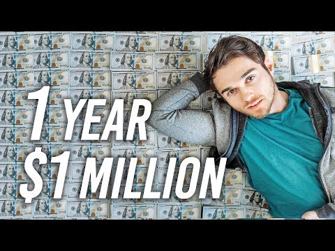 How To Become A Millionaire In ONE Year (My Plan)