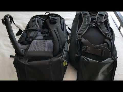 Osprey Farpoint 55 vs Deuter Transit 50 Review