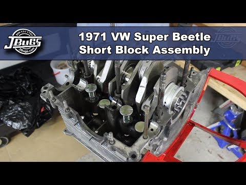 JBugs - 1971 VW Super Beetle - Engine Build Series - Short