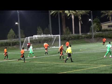 Sporting San Fernando vs Santa Ana Winds (second half) 3/25/17