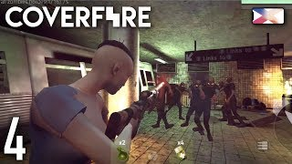 COVER FIRE: SHOOTING BATTLE - Zombie Underground Day 3 and Chapter 3 Boss screenshot 5