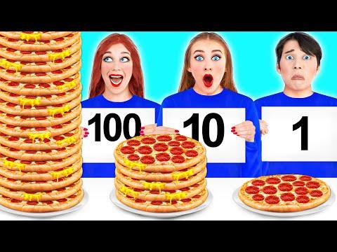 100 LAYERS FOOD CHALLENGE #4