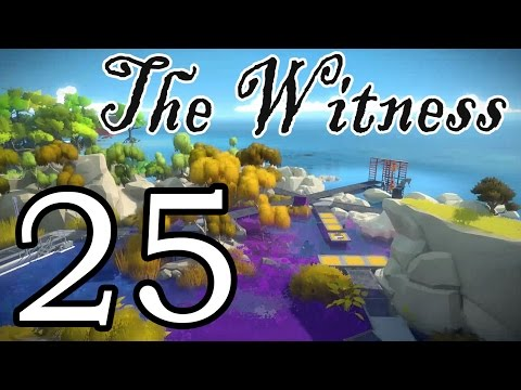 [25] The Witness - Blues In The Swamp - Let's Play Gameplay Walkthrough (PS4)