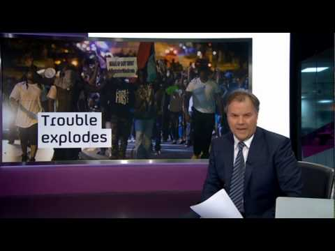 Channel 4 News - IS in Iraq, Cliff Richard sex abuse allegations and Protests in Ferguson (14/8/14)
