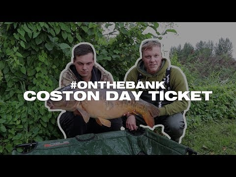 CARP FISHING NORFOLK - COSTON DAY TICKET - #ONTHEBANK VLOG #1
