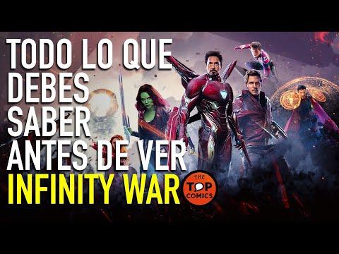 Todo lo que debes saber antes de ver Infinity War