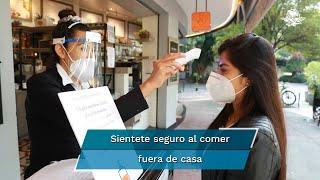 """La Canirac lanzó el programa """"Mesa Segura"""" con el que se busca que el comensal tenga una experiencia agradable y segura al comer fuera en esta nueva realidad"""