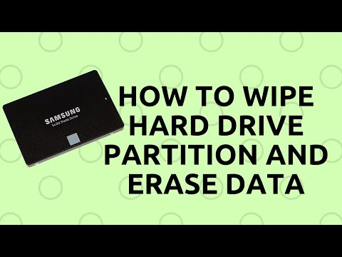 How to Wipe Hard Drive Partition and Erase Data