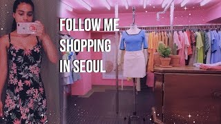 shopping in korea