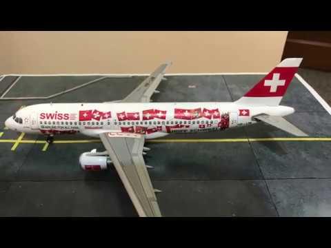 1/144 Zvezda A320 Swiss