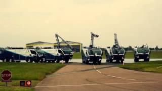 Birmingham Airport Unveil Five New Fire Fighting Vehicles