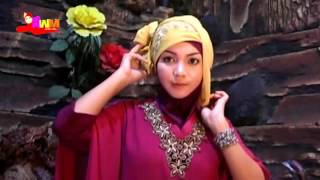 Tutorial Cara Memakai Jilbab Pesta Segi Empat Modern Terkini