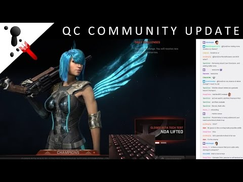 Quake Champions - Community Update thanks to SyncError (lead design)