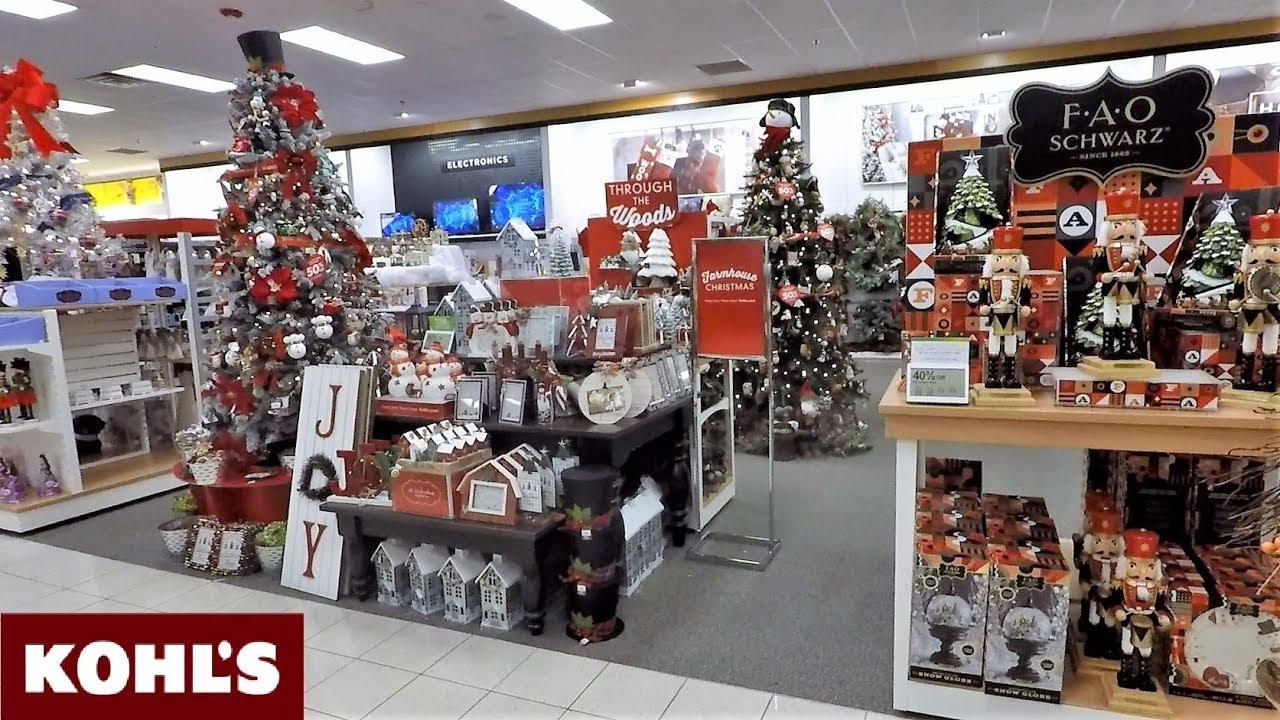 CHRISTMAS AT KOHLS - CHRISTMAS DECOR DECORATIONS ORNAMENTS ...