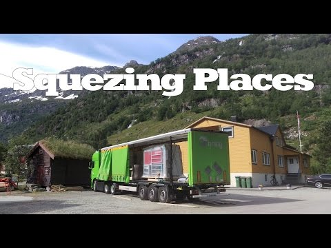 Norway Trucking - Squezing Places - Part 2