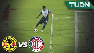 ¡Qué error! Roger se pierde el segundo del Ame | América 1 - 0 Toluca | Copa por México | TUDN