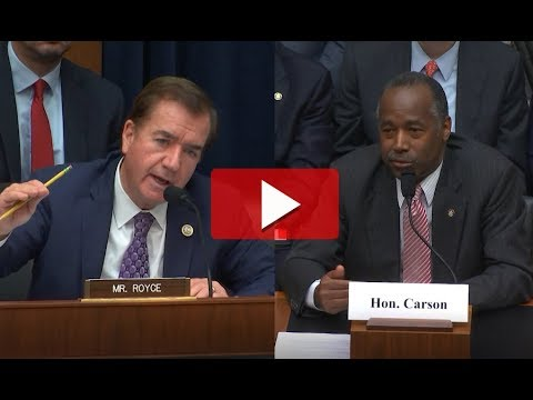 Download Youtube: Rep. Royce Discusses Federal Housing Reforms with HUD Secretary Ben Carson