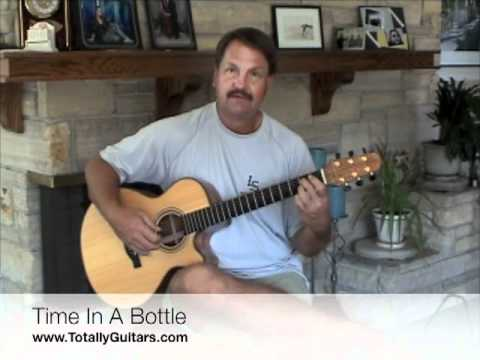 Time In Bottle Free Guitar Lesson Jim Croce Youtube