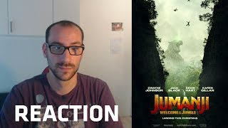 JUMANJI: BIENVENUE DANS LA JUNGLE streaming VF - REACTION