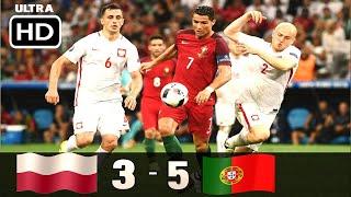 Португалия Польша 1 1 5 3 Обзор Матча 1 4 Финала Чемпионата Европы 30 06 2016 HD