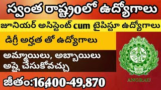 latest govt jobs in telangana ap VLIP-ABOUT LV