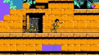 The Jungle Book (NES) (7) Getting The Monkey Off My Back
