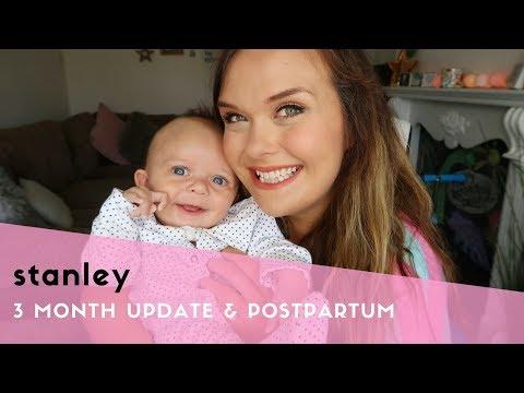 3 MONTH OLD BABY UPDATE & 3 MONTHS POSTPARTUM